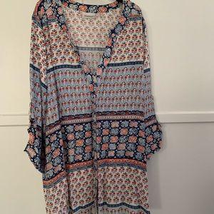 Print blouse 30/32